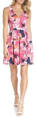 Trina Turk trina Marcia Sleeveless Fit & Flare Dress