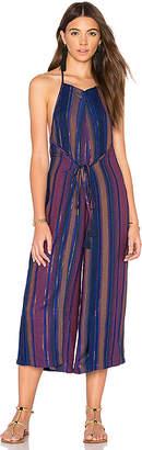 Cleobella Luma Jumpsuit in Blue $169 thestylecure.com