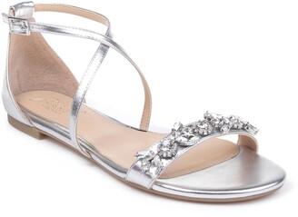 Badgley Mischka Tessy Embellished Sandal