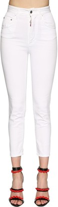 DSQUARED2 Twiggy High Waist Stretch Jeans