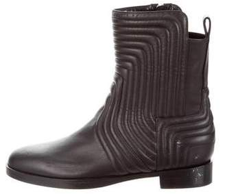 Pierre Hardy Quilted Leather Ankle Boots