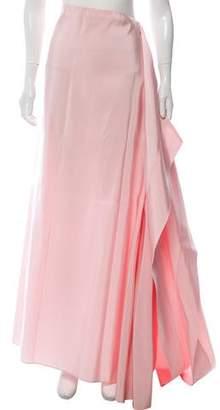 Rosie Assoulin Silk Fille Maxi Skirt
