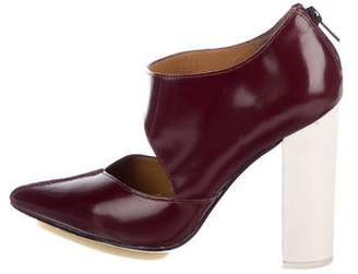 3.1 Phillip Lim Kadie Patent Leather Booties