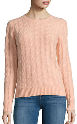 Lord & Taylor Cable Knit Cashmere Sweater $179.99 thestylecure.com