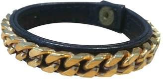 Vita Fede Gold Leather Bracelet
