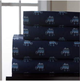 Elite Home Fashions Elephant Print Sheet Set