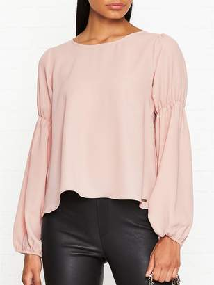 Armani Exchange Bow Back Blouse