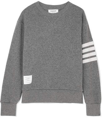 Thom Browne Striped Knitted Sweater - Gray