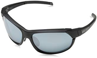 Smith Unisex Adults' Overdrive/N XB 003 Sunglasses, (Matt Black/Slf Silver)