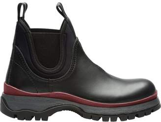 Prada Sawtooth sole boots
