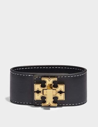 Tory Burch Bracelet Logo Single Wrap