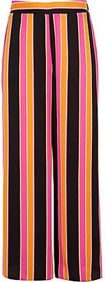 River Island Girls orange stripe wide leg palazzo trousers