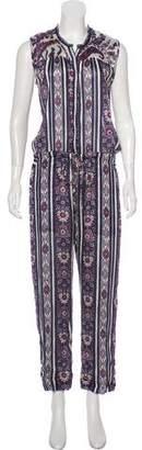 Etoile Isabel Marant Printed Sleeveless Jumpsuit