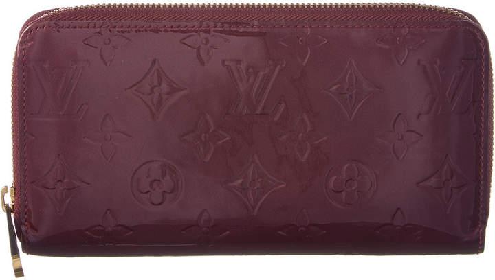 Louis Vuitton Griotte Monogram Vernis Leather Zippy Wallet