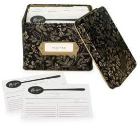 Rifle Paper Co. Queen Anne Recipe Box