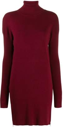 MICHAEL Michael Kors side-zip rollneck knit dress