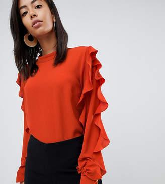 Y.A.S Tall Suffia ruffle blouse