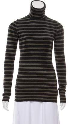 Brunello Cucinelli Striped Virgin Wool Turtleneck w/ Tags