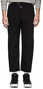Blood Brother MEN'S ICON COTTON DRAWSTRING TROUSERS-BLACK SIZE M