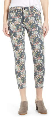 Lucky Brand Ava Floral Crop Jeans