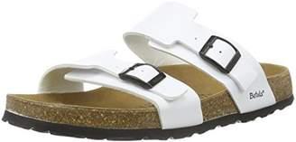 Betula Unisex Adults' Global No.1 Open Toe Sandals White Size: