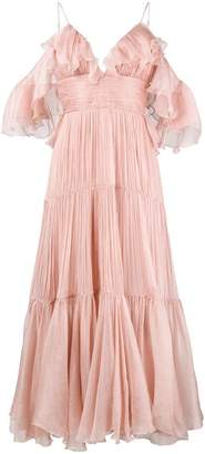 Maria Lucia Hohan ruffle long dress