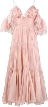 Maria Lucia Hohan ruffle long dress