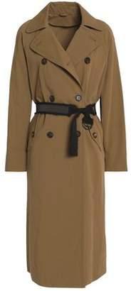Brunello Cucinelli Belted Cotton-Gabardine Trench Coat