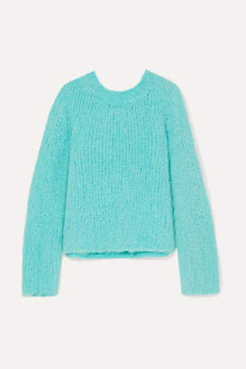 Maison Margiela Boucle Sweater - Blue