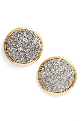 Gorjana Astoria Large Drusy Stud Earrings