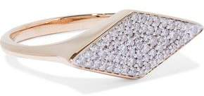 Adina 14-karat Gold Diamond Ring