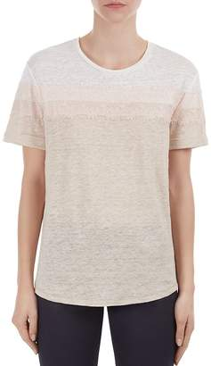 Gerard Darel Polly Lace-Trim Linen Tee