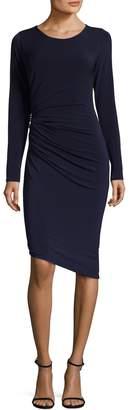 Rachel Roy Women's Ruched Embellishment Sheath Dress