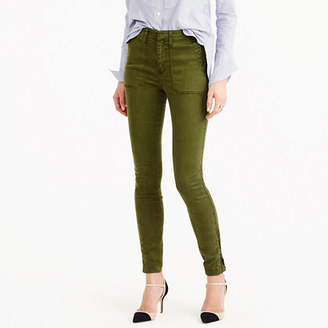 Skinny stretch cargo pant with zippers $98 thestylecure.com
