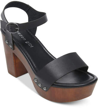 Madden-Girl Lift Platform Sandals