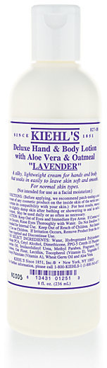 Kiehl's Deluxe Hand & Body Lotion - Lavender/8.4 oz.