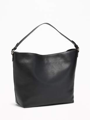 Old Navy Faux-Leather Slouchy Hobo for Women