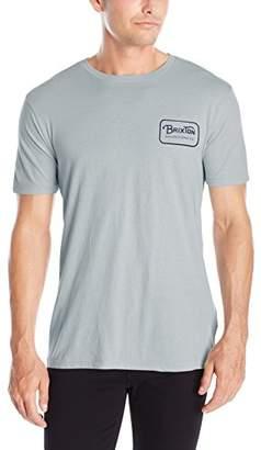 Brixton Men's Grade Short Sleeve Premium T-Shirt