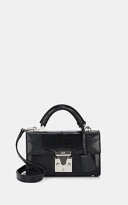 Stalvey Women's Top-Handle Mini Lizard Satchel - Black