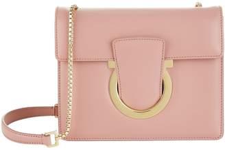 Salvatore Ferragamo Small Leather Thalia Shoulder Bag