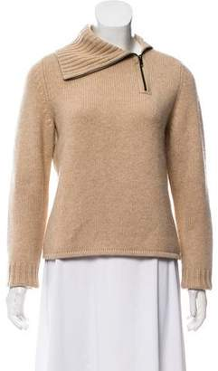 White + Warren Cashmere Zip-Up Sweater