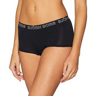 Bjorn Borg Women's MINISHORTS NOOS Solids 1p Brief, (Black Beauty), (Size: 38)