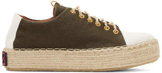 Visvim Brown Prima Folk Sneakers