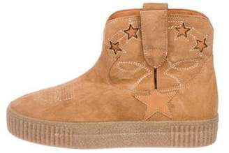 Golden Goose Suede Ankle Boots w/ Tags