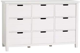 Pottery Barn Teen Sutton 9-Drawer Dresser, Simply White