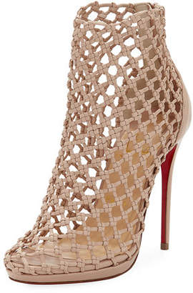Christian Louboutin Porligat Caged Red Sole Heel