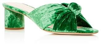 Loeffler Randall Women's Celeste Knot Mid Heel Slide Sandals