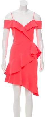 Alice + Olivia Off-the-Shoulder A-Line Dress w/ Tags