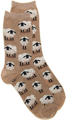 Hot Sox Sheep Crew Socks - Women's
