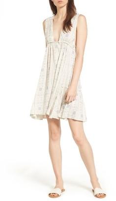 Women's Sun & Shadow Print Swing Dress $49 thestylecure.com